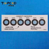 6 Dots Moisture Sensitive Hic Humidity Indicator Card
