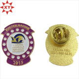 Cute Clown America Soft Enamel Gold Lapel Pin Badge