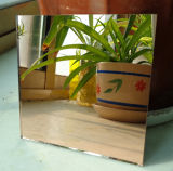 High Quality Bronze Color Mirror Glass with Double Coated Paint