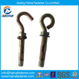 High Quality/Strength Carbon Steel /Zinc Plated Anchor Bolt (M4-M64) , Expansion Bolt, J Type /Hook Type Anchor Bolts
