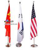 245cm High Preminum Government Office Flag Pole Stand