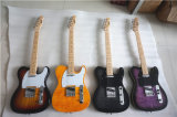 Factory Price Wholesale Solid Basswood Tele Style Electric Guitar
