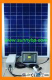 10W Solar Rechargeable LED Flood Light