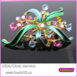 Factory Price High Quality Blooming Flower Brooch 5762