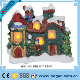 Beautiful Resin Mini House Decoration Christmas Ornament