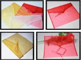 Organza Flap Envelope Pouch Bag for Clothing Packaging