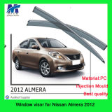 Wind Deflectors for Cars for Nissan Almera 2012