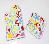 Promotion Kitchen Sets Cotton Household Oven Gloves/Mitts