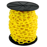 Traffic Safety HDPE Plastic Chain Colorful Plastic Chain