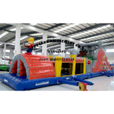 PVC Baffle Barrier Inflatable Obstacle Course