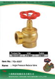 "Pressure Reduce Angle Hydrant Valve: F2""BS-2""Bsp (DIN)"