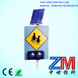Good Quality Aluminum Solar Powered Traffic / Road Sign