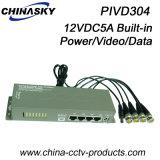 4 Channel Passive Power&Data&Audio Video Balun (PIVD304)