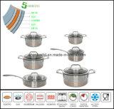 5 Ply Waterless Cookware Set Kitchen Ware