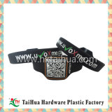 Promotional Print Code Silicone Wristband with Thb-008