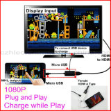 Micro USB 5 Pin to HDMI Adapter for Mobile Phone