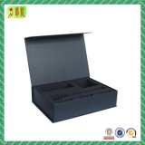 Printed Paper Cardboard Gift Box with Magnets Closure Flap