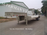45t Lowbed/ Lowdeck Lowbody Low Platform Cargo Truck Semi Trailer