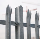 China Galvanized Steel Palisade Fence for Telecom Tower Supplier