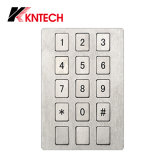 Flat Metel Keypad Button for Waterproof K15 Kntech
