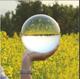 Transparent Glass Globe Clear K9 Crystal Ball (KS02312)