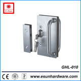 Europe Popular Shower Latch in Glass Door Patch Lock (GHL-010)