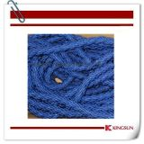 Blue Braided Rope for Ropr Barriers
