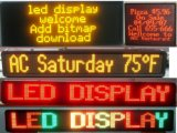 P10 Outdoor Monochrome Red LED Digital Signage