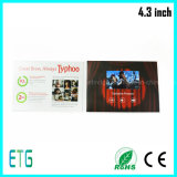 4.3 Inch LCD Screen Christmas Brochure for Business and Gift