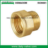 Bsp Thread Brass Reduce Nipple Socket/Male Socket (AV-BF-7004)