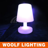 Hotel Lights Plastic LED Bedside Table Lamps