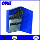 15PCS Black Oxide HSS M2 Twsit Drill Bit Set