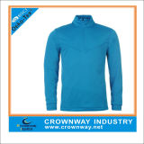 Long Sleeve Sport Fashionable Blue Golf Polo for Men