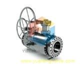 API 6D Double Block and Bleed Floating Ball Valve