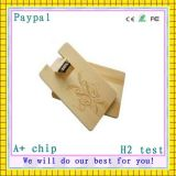 Wooden Card Shape USB Stick (GC-W009)
