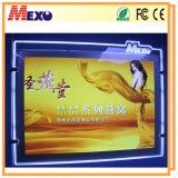 Carved Logo Magnetic Open Slim LED Light Box for Advertising