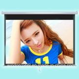 150 Inch Manual Pull Down Projection Screen for Home Theater with High Quality