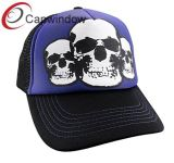 Skeleton Printed Fashion Breathable Leisure Sport Trucker Mesh Cap