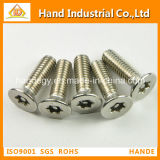 Stainless Steel Torx Csk Head Anti-Theft Security Screw