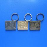 Gondar Ethiopia Building Design Metal Keychain 3D Personalized Keyring