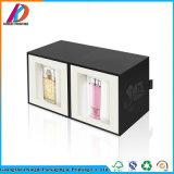 Matte Black Fancy Design Luxury Cosmetic Box Packaging
