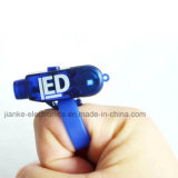 LED Bright Finger Ring Lights with Logo Printed (4012)
