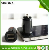 New Design High Quality DC2.1+1A Dual USB Car Adaptor with Factory Prices for iPhone 5s