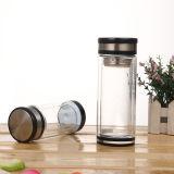Wholesale Double Wall Glass Water Bottle