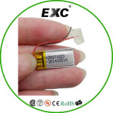 Exc371023 Small Size Lithium Polymer Battery Rechargeable 3.7V 60mAh
