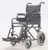 Steel Transit, Folding for Easy Storage and Transport, Wheelchair, (YJ-008B)