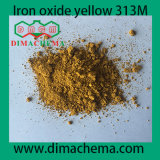 CAS No. 51274-00-1 Pigment Yellow 42 Synthesis Iron Oxide Yellow 313m
