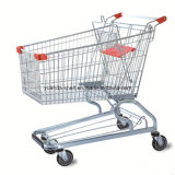 180L Plastic Folding Hand Shopping Trolley Cart