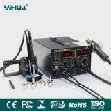 Yihua968da+Hot Air Repair Rework Station Digital SMD Soldering Iron 220V