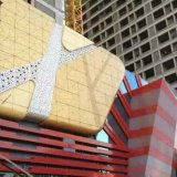 Beautiful Aluminum Facade Cladding for Square Decoration